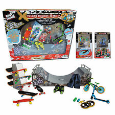 Have Fun !  - Big Box Skate Park Halfpipe- Finger Skate, Rollers, Scoot, BMX