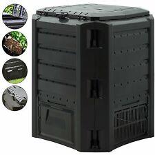 Deuba Garden Composter 380L - Black