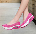 Womens Slip On Shoes Sneakers Sports Hiking Walking Athletic Creepers Casual sz