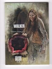 Walking Dead season 5 walker costume relic card (b) girl