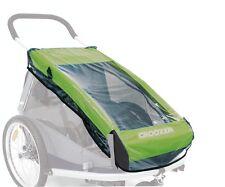 Croozer Regenverdeck für Kinderanhänger Kid for 2 Modell 2010+2011+2012 NEU