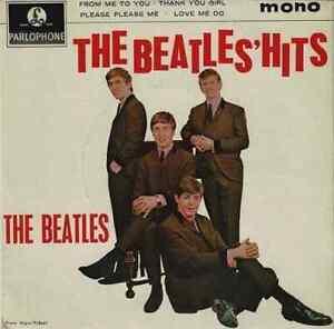 THE BEATLES The Beatles' Hits EP Vinyl Record Single 7 Inch Parlophone 1963 Pop