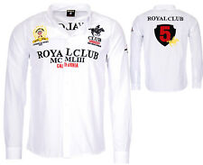 Geographical Norway Hombres Manga Larga Camiseta Real Club Camisa Casual