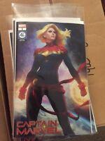 Captain Marvel #1 Artgerm Variant NM/Unread Movie Marvel Comics