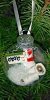 2020 GIFT TAG TOILET PAPER & SNOW CHRISTMAS TREE ORNAMENT UPSIDE DOWN 2020