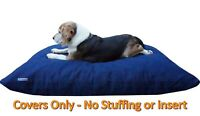 "Dogbed4less DIY Durable Tough Blue Denim Pet Dog Bed Cover SM-MED- 36""x29"" Flat"