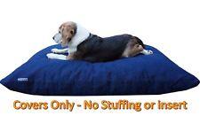 "Heavy Duty Diy Durable Tough Blue Denim Pet Dog Bed Cover Sm-Med- 36""x29"" Flat"