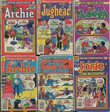 Archie Comics Group Comic Book Betty Veronica Jughead Josie Pussycats (Lot of 6)
