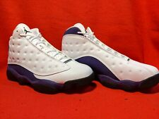 Brand New Air Jordan 13 Retro Size 10 Color White/purple  414571 105