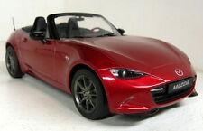 Triple9 1/18 Scale Mazda MX-5 Roadster MX5 4th Gen 2015 Red diecast model car