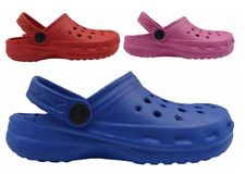 Ciabatte mare piscina doccia sabot bambina bambino in plastica con cinturino