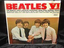 Beatles Beatles VI Sealed Mono Vinyl Record Lp Album USA 1964 Orig Promo Riaa 3
