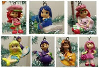 Strawberry Shortcake 7 Piece Holiday Christmas Tree Ornament Set