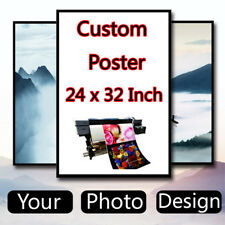 Custom Poster Design 24 x 32 inch Printing Thin Silk Fabric (Not with frame)