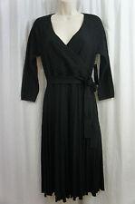 "Jones New York Sweater Dress Sz S Black "" Edge of Darkness"" Career Cocktail"