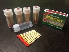 Custom x50 Coughlans Waterproof Matches, EDC, Bug-out Bag Emergency Fire