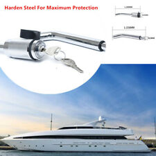 Dual Bent Pin Receiver Tow Hitch Pin Lock for Trailer RV Yacht Safety Locking