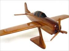 T-28 Trojan Training Plane Handcrafted Natural Mahogany Premium Wood Desk Model