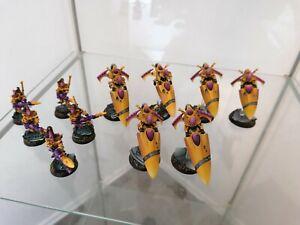 Warhammer 40,000 40k Craftworld Eldars Army - Propainted army