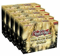 Yugioh Maximum Gold - 5 Mini Boxes - Brand New Display Box and FACTORY SEALED