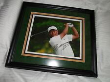 KJ Choi Golf South Korea Professional Golfer Autographed Auto'd Framed Photo