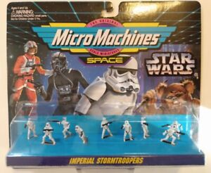 MicroMachines Space - Star Wars collection 66080 #1 Imperial Stormtroopers 1994