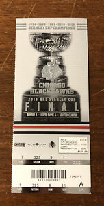 2014 Stanley Cup Finals Ticket Chicago Blackhawks vs New York Rangers AUCTION1
