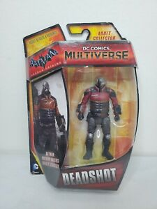 "DC Comics Multiverse 4"" 3.75"" DEADSHOT Figure BATMAN ARKHAM ORIGINS Series NEW"