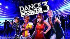 Used Xbox 360 Dance Central 3 MICROSOFT JAPAN JP JAPANESE JAPONAIS IMPORT