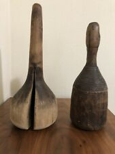 Set of 2 - Vintage Wood Masher / Pounder from Norway