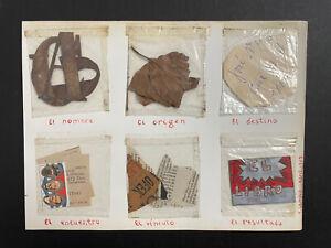 Collage by: Alejandro Campos Garcia,1997,original signed
