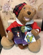 Teddy Bear Reading Twas The Night Before Christmas 10""
