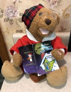 "Teddy Bear Reading Twas The Night Before Christmas 10"""