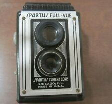1940s Spartus Full-Vue Twin Lens Reflex Bakelite Camera