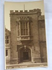 RUGBY - The School Entrance - RP- Photochrom Co. *