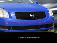 Fits 04-06 Nissan Sentra Black Billet Grille Lower Bumper Grill Insert Fedar