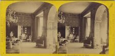 Holland House Kensington UK Photo W. England Stereo Vintage Albumine ca 1865