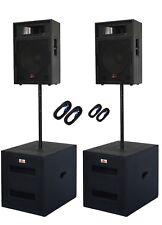 DJ PA Musikanlage BANDANLAGE komplett ANLAGE  10400 WATT max. neu 2