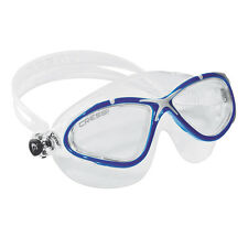 Cressi Swim Planet Mask Soft Silicone Swimming Goggles Blue