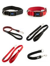 Ancol Extreme Heavy Duty Padded Adjustable Nylon Dog Collar Rope And Bungee Lead
