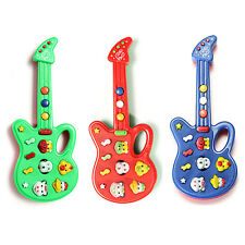 Lovely Electronic Guitar Toy Nursery Rhyme Music Toy For Child Infant Boys Girls