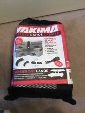 Yakima Canoe Carrier Foam Blocks With Straps universal car roof part #04055 boat