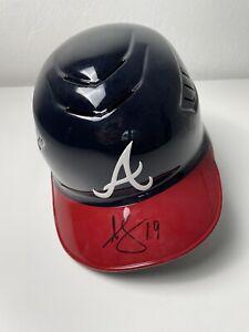 Andrelton Simmons Signed Atlanta Braves Full Sized Authentic Helmet