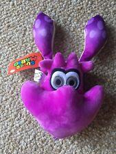 "Splatoon Purple Squid 12"" Plush New with Tag Super Mario Nintendo"