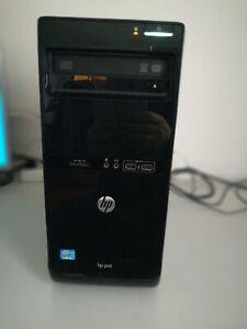 Ordinateur de bureau HP Pro 3500 MT, Windows 10, 8 Go RAM, stokage 500Go