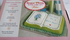 "WILTON VTG.  1971 ""SUGAR PLUM"" BOOK CAKE  PANS (NO DECORATING TUBES)"
