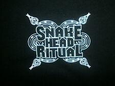 SNAKE HEAD RITUAL CONCERT T SHIRT Northern Boogie Toledo Rock Uncle Knucklefunk
