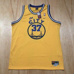 100% Authentic Nick Van Exel Vintage Nike The City Warriors HWC Jersey Size XL