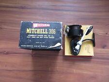 VINTAGE GARCIA MITCHELL 306 SPINNING REEL & BOX