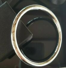 Classic 66 mm Solid Sterling Silver Filled 6 mm Golf Slave Bangle 43 Grams Heavy